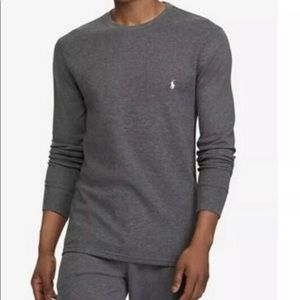 Polo Ralph Lauren | Men's Thermal Crew Neck Gray